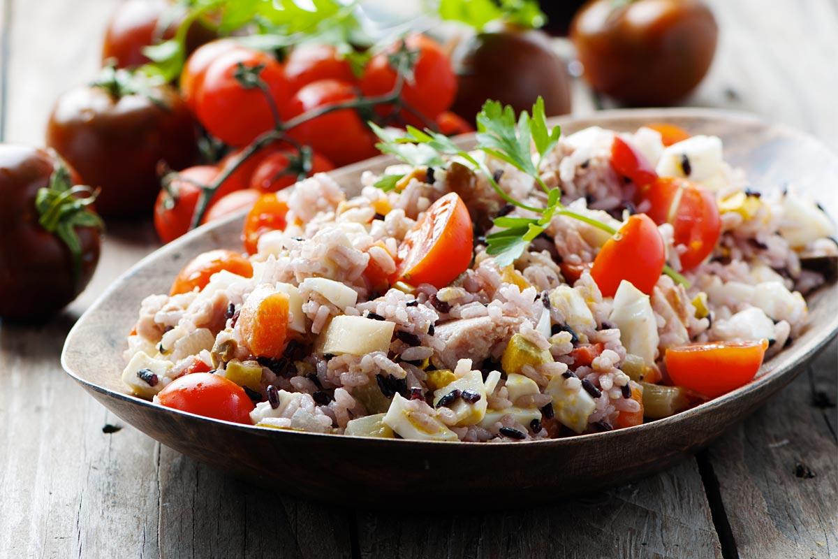 Ricetta insalata di riso alla calabrese