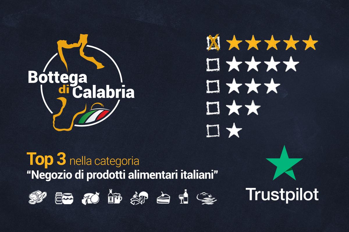 Bottega di Calabria tra i migliori negozi di prodotti alimentari