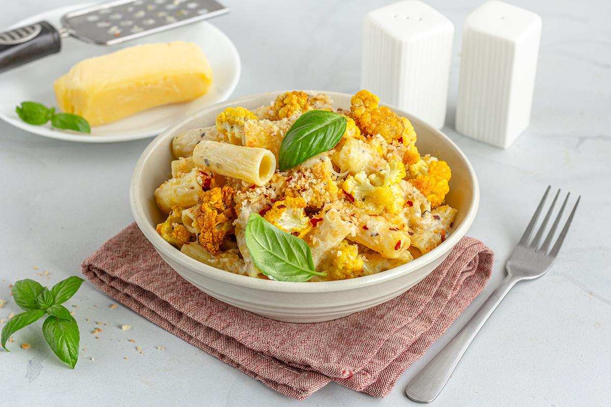 Ricette calabresi: pasta con pomodori secchi e cavolfiore